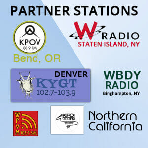 LESTER THE NIGHTFLY PARTNER STATIONS